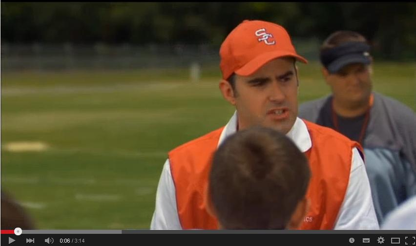 Facing the giants stone wall